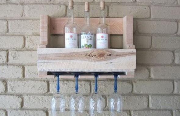 15 ideas creativas diy para el vino con palets vinopack for Muebles palets pdf