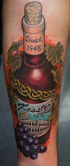 Botella Tatuaje 15 tatuajes del vino para #winelovers - vinopack
